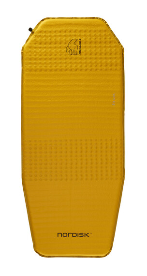 Nordisk Ven 2.5 Self-Inflatable Mat mustard yellow/black